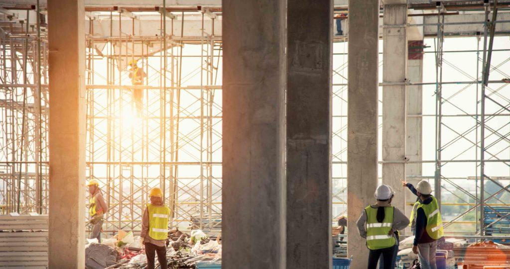 ETGB Group - Team On Construction Site - Major Electrical Contractors